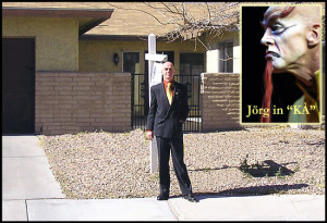 Jörg with his new Las Vegas Home