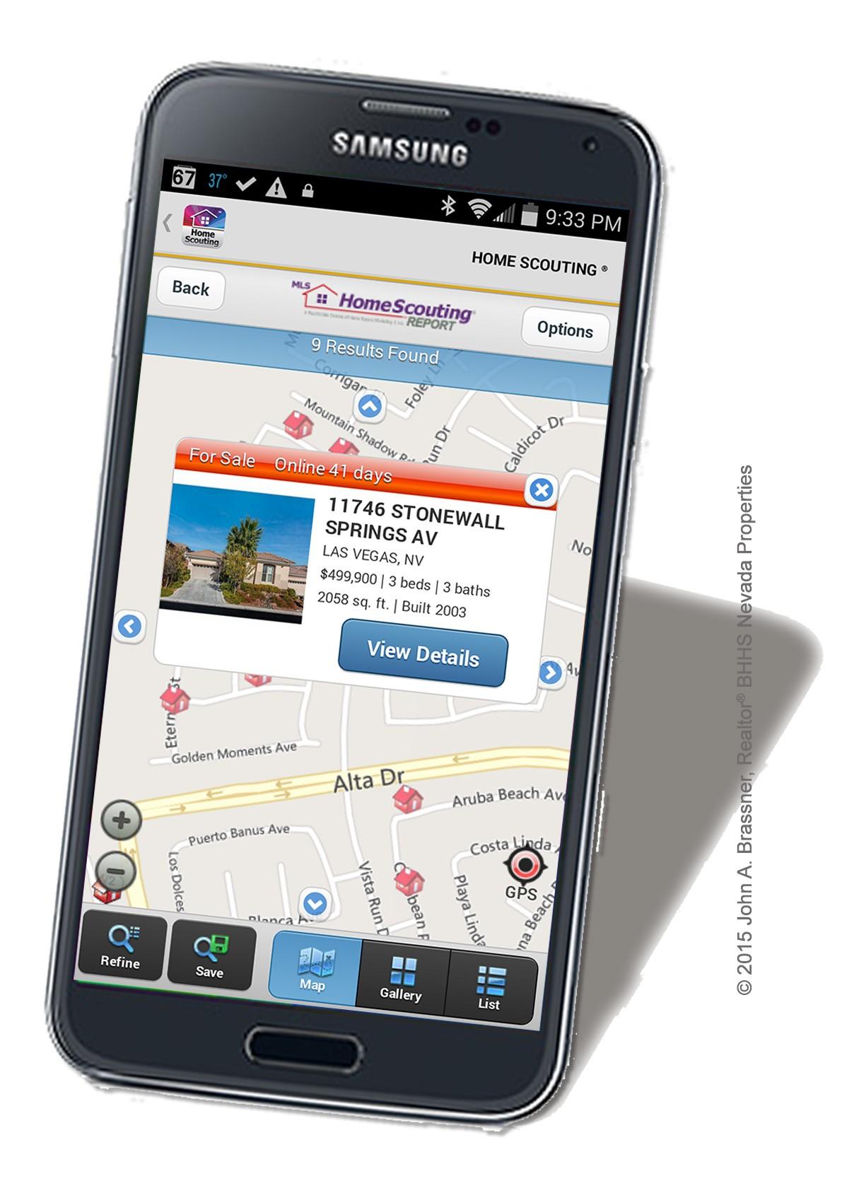 Las Vegas Mobile Search App